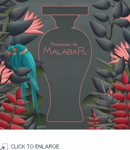 Lubin Les Princesses de Malabar Sample