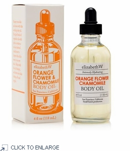 Orange Flower Chamomile Body Oil by elizabethW - Winter SALE 75% Off