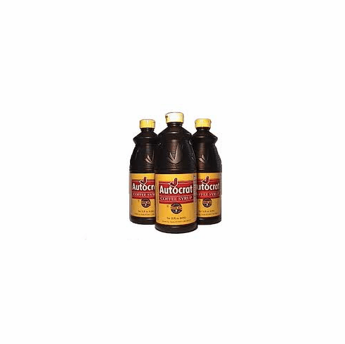 Autocrat Coffee Syrup, Two 32 oz Bottles
