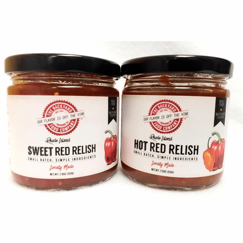 Backyard Food Co. Red Relish, 7.5oz