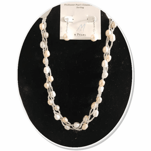 Champagne Freshwater Pearl Necklace