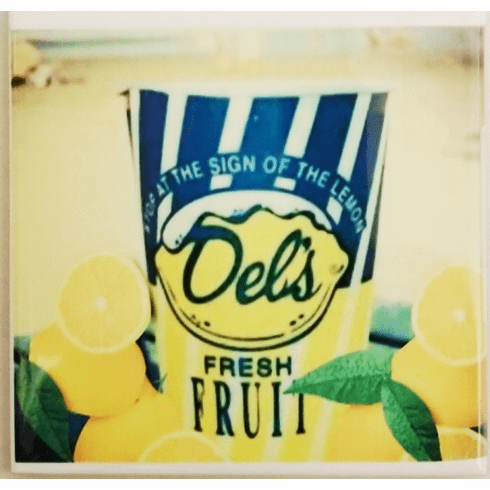 Del's Lemonade Ceramic Coasters