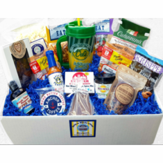 The 'Eat, Drink, and Be Merry'  Giftbasket