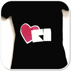 Heart RI Women's T-Shirt