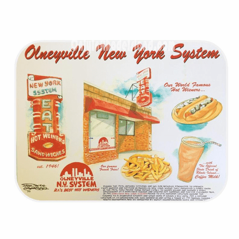 Olneyville NY System Lithograph