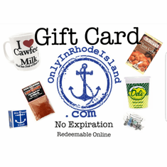 Only In Rhode Island Gift Card