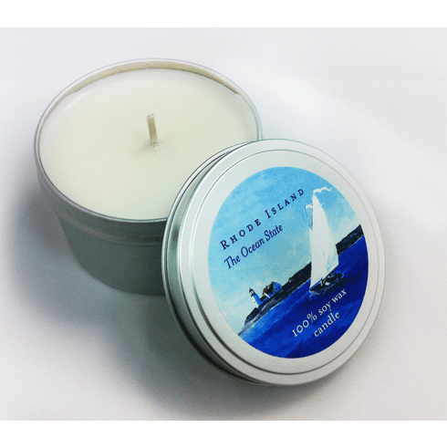 """""""Rhode Island-The Ocean State"""" Orla Soy Candle"""