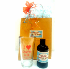 RI Original Coffee Milk Gift Set