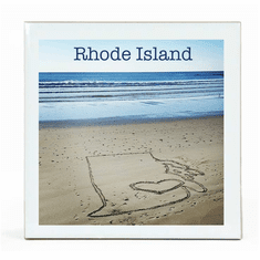 RI Sand Coaster, Ceramic
