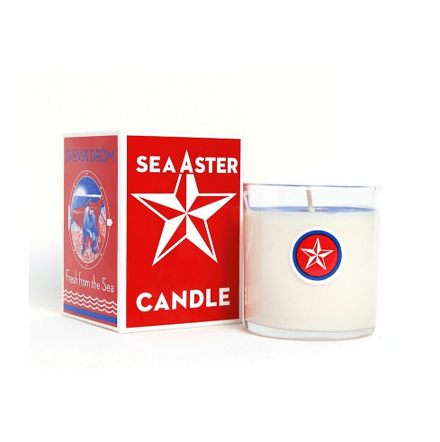 Sea Aster Candle