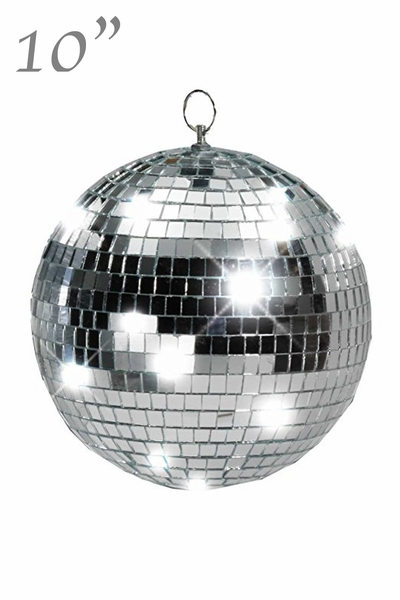 "10"" Mirror Disco Ball - Real Glass"