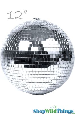 Disco Ball 12 Quot Mirror Disco Balls Real Glass Round