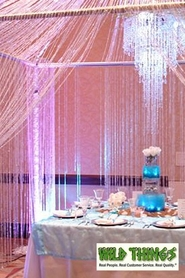 A Personalized Affair - Diamonds Curtains, Tablecovers Lighting & More