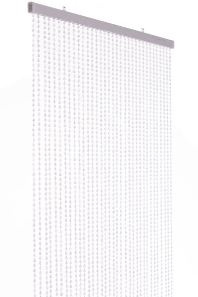 "Acrylic Beaded Curtain ""Berlin"" Clear 35 1/2"" x 78"" (6.5') - 34 Strands"