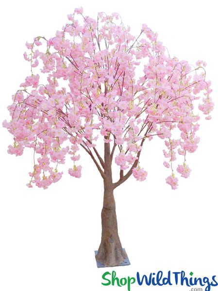 Cherry Blossom Artificial Trees Decorative Flowering At Wildthings