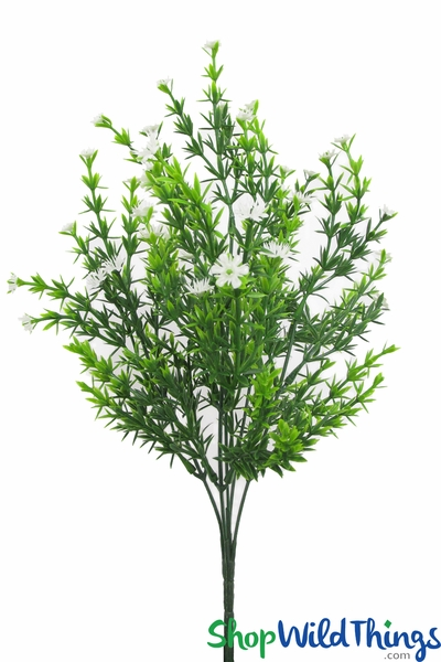 "COMING SOON! Baby's Breath Flower Spray - 15"" Bendable Bouquet"