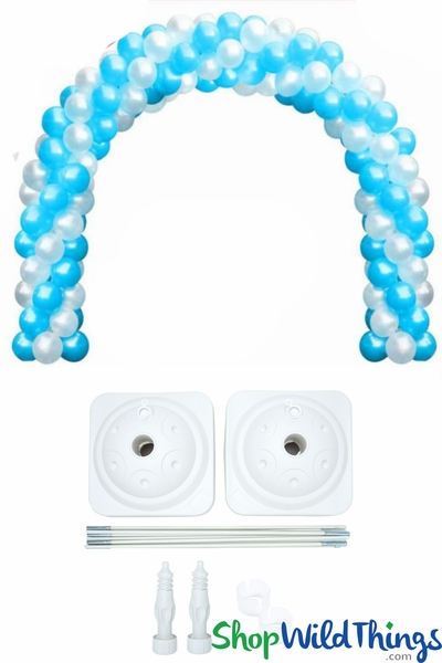 Balloon Arch Kit 9' Tall x 19' Wide - 400 Balloon Capacity