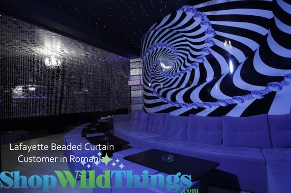 Beaded Curtains in Night Clubs!