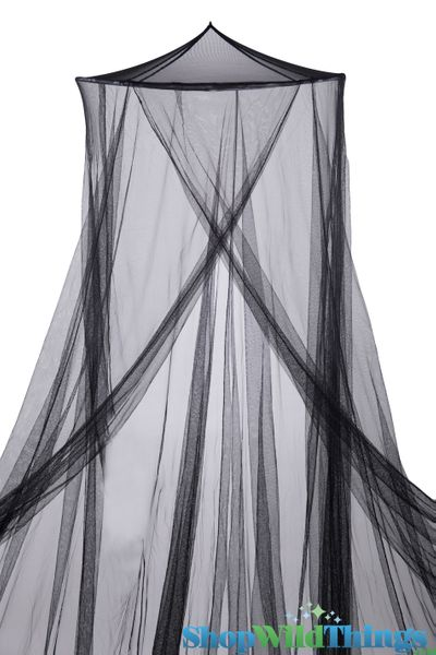 """Coming Soon!  Bed Canopy  """"Jane""""  Black Mosquito Net"""