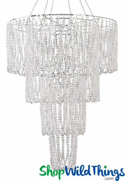 "COMING SOON! ""Bellissima""  4 Tier Acrylic Diamond Chandelier 24""  x 48"""