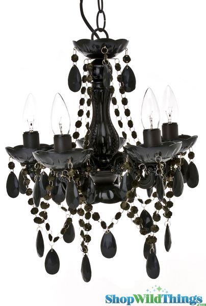 Coming Soon!  Chandelier Gypsy Black - Small 5 Lights - With Plug