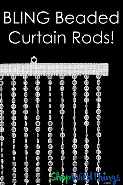 Bling Curtain Rods - Add on Service