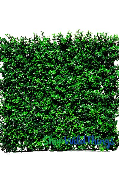 "Boxwood Vertical Landscape Wall Mat - 20"" Square (Indoor/Outdoor, UV & Fire Treated!)"
