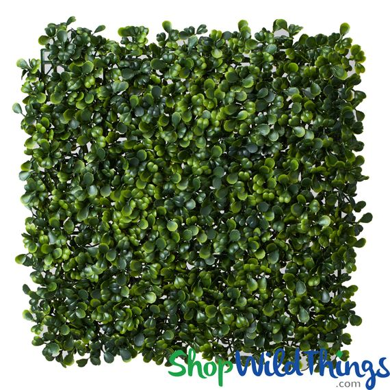 "Common Boxwood Wall Mat - 10 1/2"" Square - BUY MORE, SAVE MORE!"