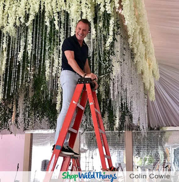Create Luxurious Floral Chandeliers with Silk Florals, Greenery, Crystal Strands & Unique Lighting