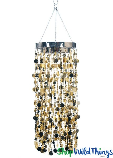 COMING SOON! Bubbles Party Chandelier - Indian Gold - 30""
