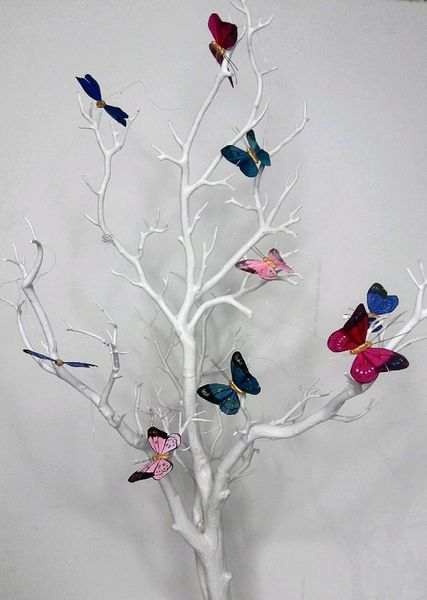 Butterfly Garland - Bright Multi-Colors - 6 Feet Long