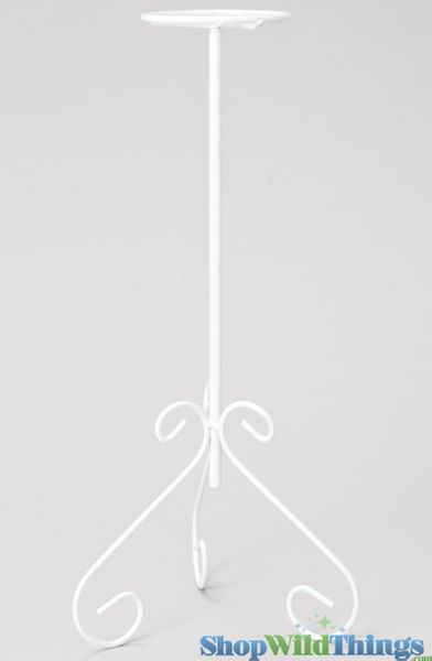 "Candle Holder -  White Wire -  15"" (as low as $2.82)"