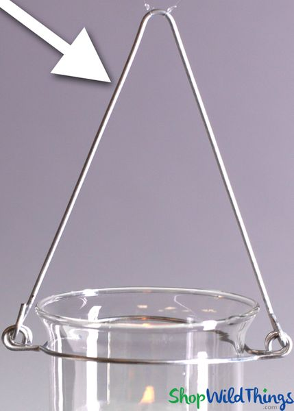 Candle Holder Wire Frame 12pcs - Hang Your Tealights!