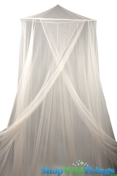 "Coming Soon - Canopy ""Megan"" Cream Mosquito Nets Canopies"
