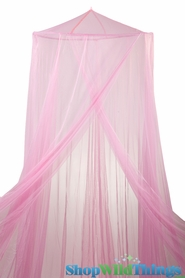 """Canopy """"Megan"""" Pink  Mosquito Nets Canopies"""