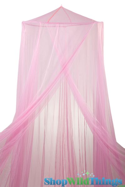 "Canopy ""Megan"" Pink  Mosquito Nets Canopies"