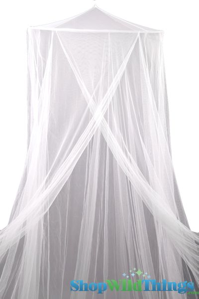 """COMING SOON! Canopy """"Megan"""" White Mosquito Nets Canopies"""