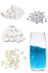Container Fill & Diamond Confetti & Table Scatter