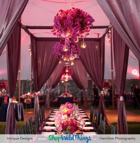 Centerpieces Fit for Fairytales from Intrigue Designs