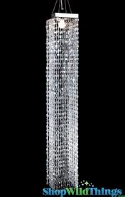 Chandelier Amelia - Crystal Iridescent - 4 ft