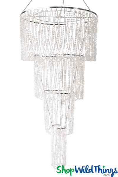 Chandelier Arianna Swag - Crystal Iridescent - 5.5' Long