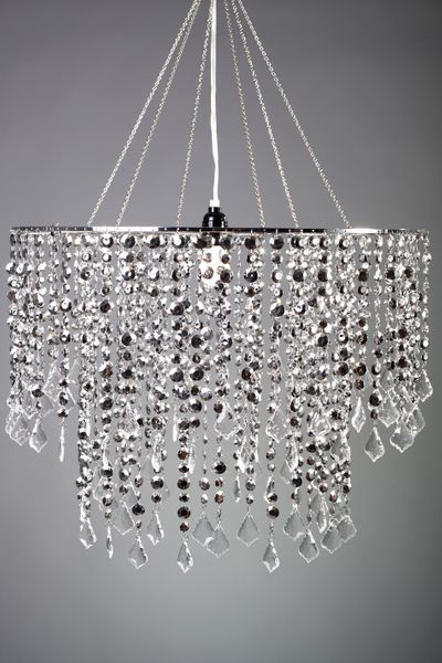 "COMING SOON! Chandelier Dazzle - Silver- 24"" Diameter"