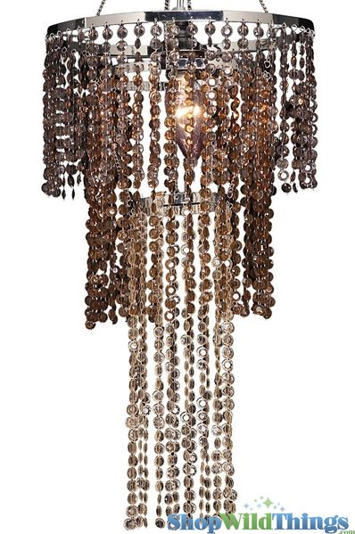 Chandelier Diamonds - Multi Chestnut Brown