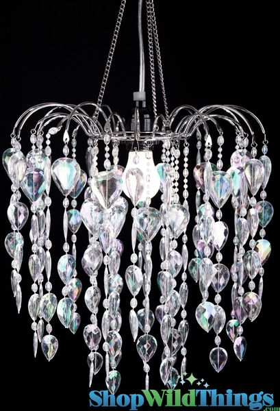 COMING SOON! Chandelier Fountain - Crystal Iridescent