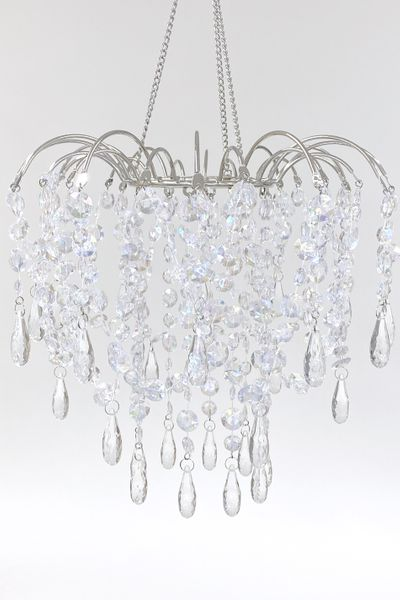 COMING SOON! Chandelier Giana - Crystal Iridescent & Non Iridescent Mix