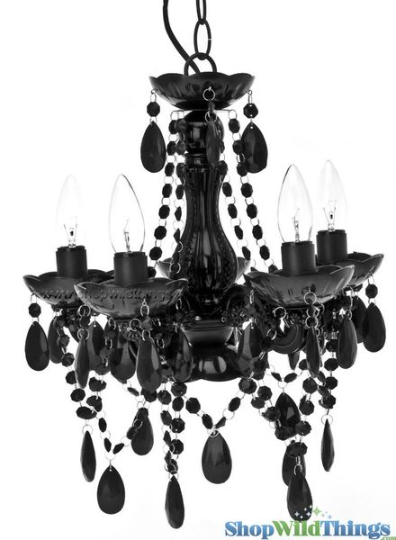 Coming Soon!  Chandelier Gypsy Black - Small 5 Lights - Hardwire