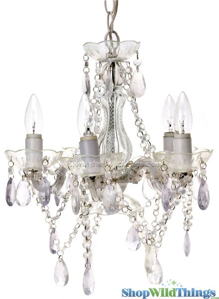 Coming Soon!  Chandelier Gypsy Clear - Small 5 Lights - With Plug