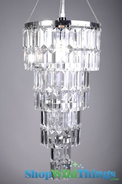 "Chandelier Crystal Rectangle Beads ""Serena""-  8"" x 16"""