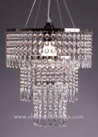 Chandelier Shabby Chic Victoria - Crystal Non-Iridescent