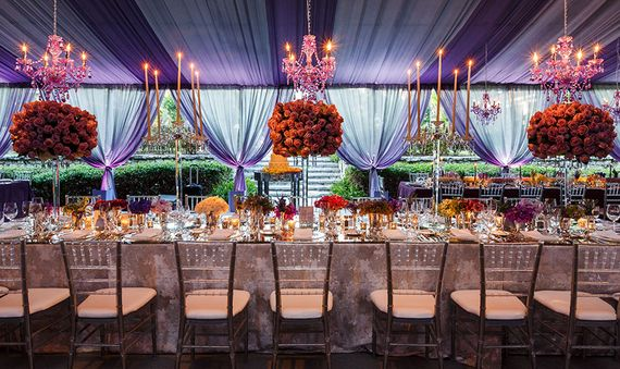 Chandeliers as Focal Points for Major Events